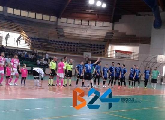 Futsal Bisceglie, grande esordio in campionato. Salinis sconfitta 5-3