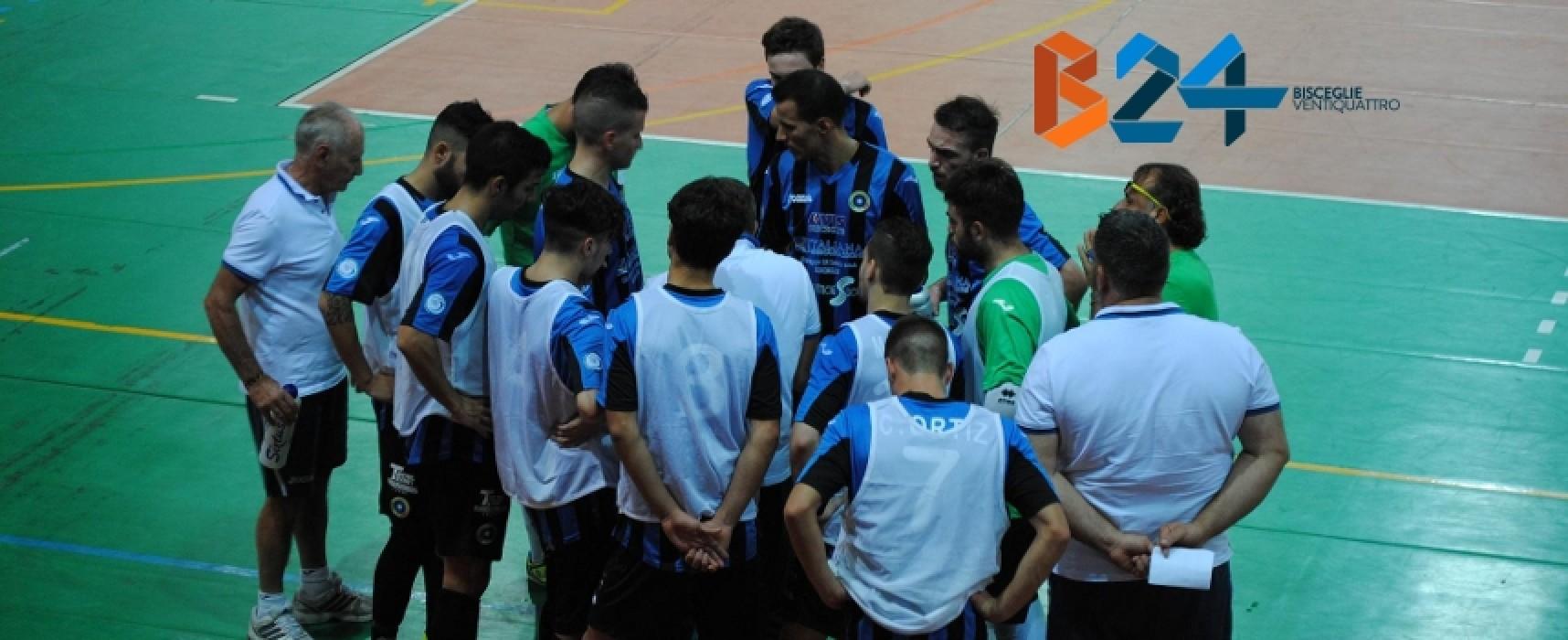 Diretta scritta: Futsal Bisceglie – Futsal Cisternino 3-1 FINALE