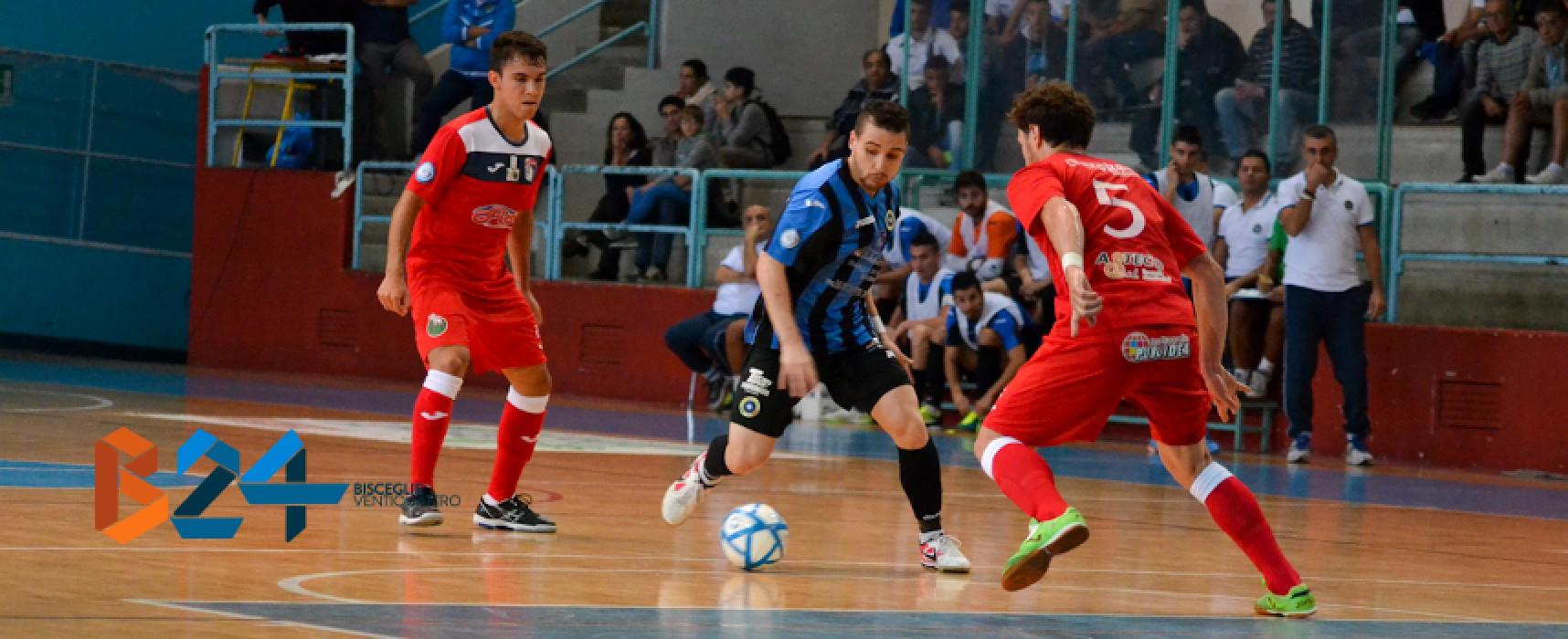 Guarda gli highlights di Futsal Bisceglie-Borussia Policoro 4-3 /VIDEO