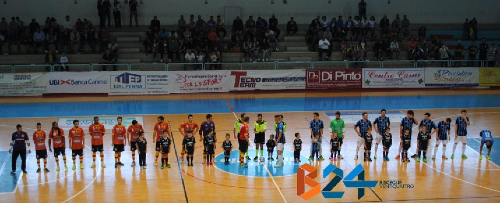 Il Futsal Bisceglie continua a stupire, 4-3 al Catanzaro