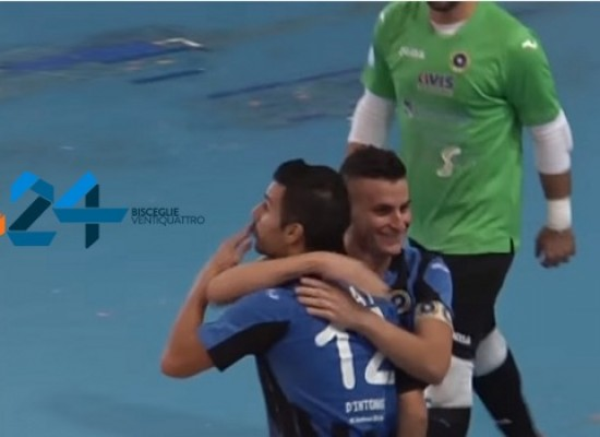 Futsal Bisceglie-Catanzaro 4-3, guarda gli highlights / VIDEO