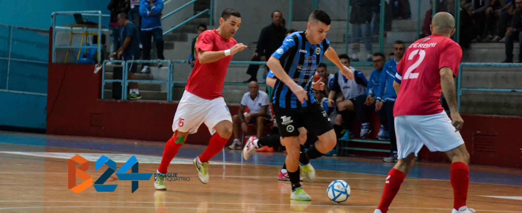 Futsal Bisceglie sette bellezze, sconfitto il Sammichele