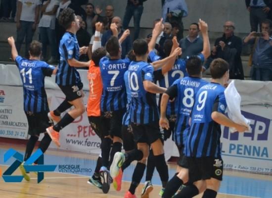 Futsal Bisceglie: buona anche la seconda, Policoro sconfitto 4-3