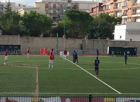Coppa Italia, l'Unione Calcio non va oltre il pari contro il Vieste