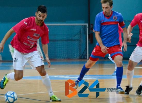 Futsal Bisceglie, cinque gol al Catania e primato mantenuto