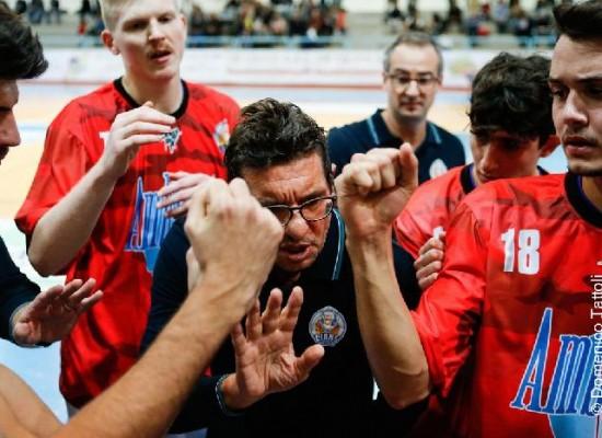 Ambrosia in partita per tre quarti a Montegranaro ma poi cede il passo alla capolista