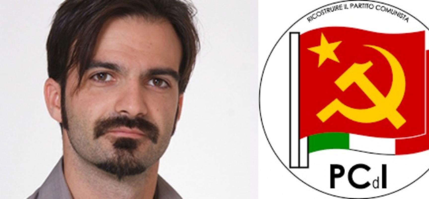 Francesco Parisi nuovo segretario cittadino del PcdI