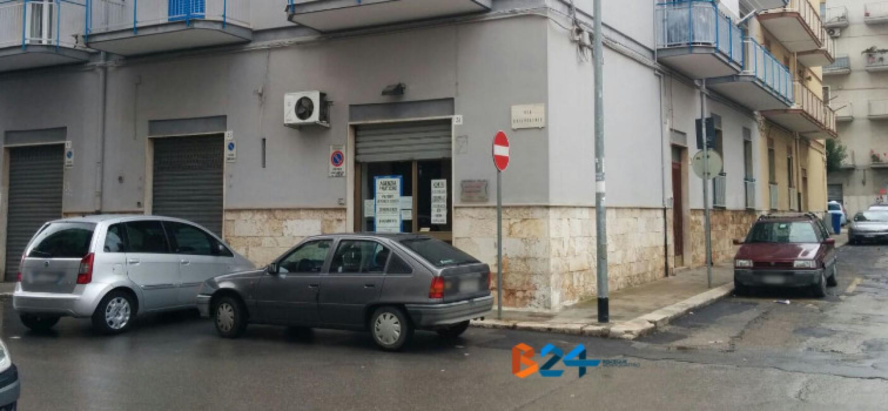 Furto con scasso ai danni di un'agenzia consulenza pratiche in via Silvestris