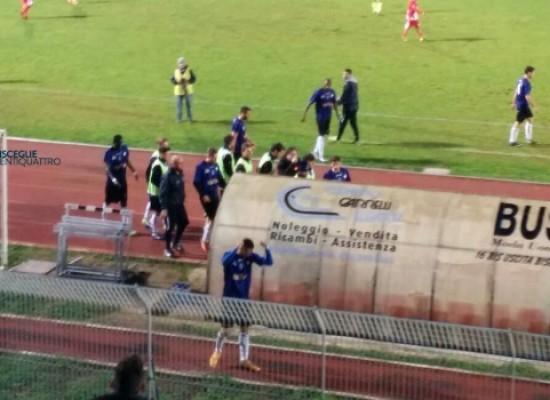 Bisceglie calcio più forte della crisi, travolta la Turris