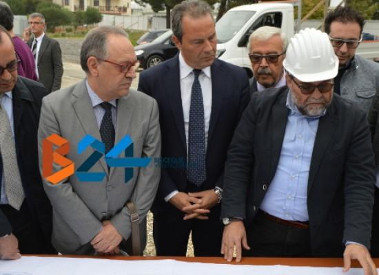 Nuova struttura sanitaria polifunzionale in via degli Aragonesi, al via i lavori / FOTO