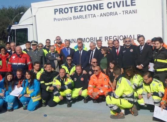 Anche gli OER di Bisceglie presenti alla cerimonia di consegna di autocarro per emergenze