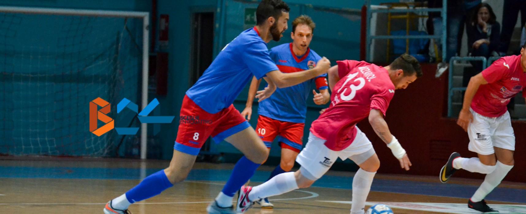 Cinquina del Futsal Bisceglie al Catania/VIDEO HIGHLIGHTS