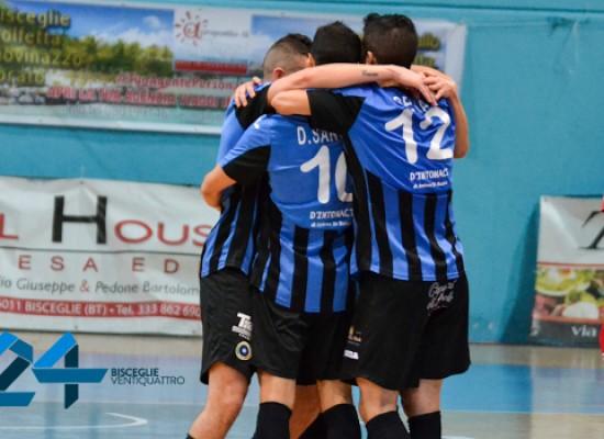 FINALE: Domar Takler Matera – Futsal Bisceglie sospesa