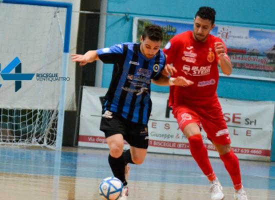 Il Futsal Bisceglie conquista la final eight di Coppa Italia, 3-1 al Cisternino