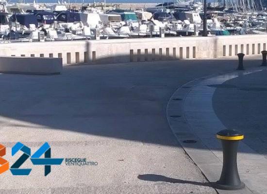 Waterfront: via i dissuasori in ghisa, street control ogni ora