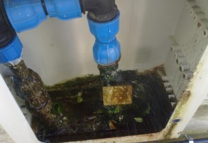 perdita acqua terzo circolo