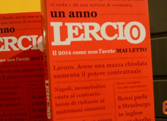 """Un anno Lercio"", presentato ieri all'Open Source il libro con il meglio di Lercio / VIDEO"