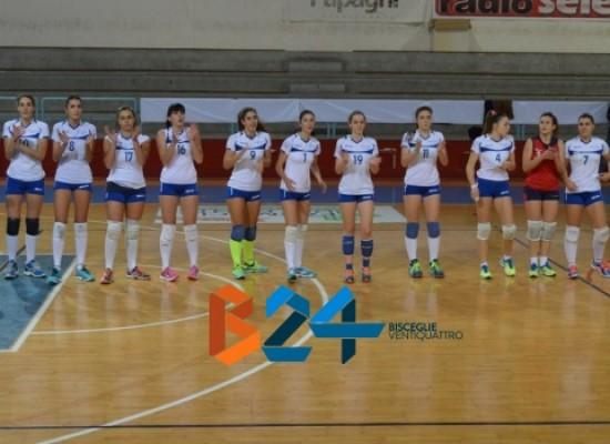 Sportilia ritrova il sorriso, secco 3-0 al Volley Barletta/FOTOGALLERY
