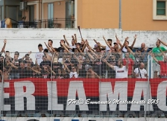 Bisceglie-Taranto di Coppa Italia senza tifosi ionici