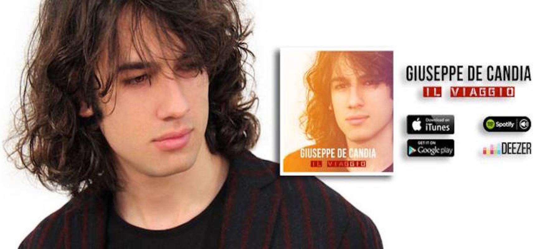 """""""Il viaggio"""", disponibile il nuovo album di Giuseppe De Candia"""