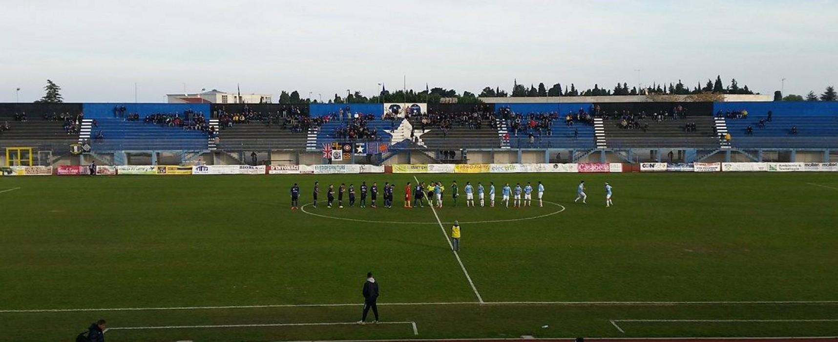 Il Bisceglie sbatte contro il muro Aprilia: al Ventura è 0-0