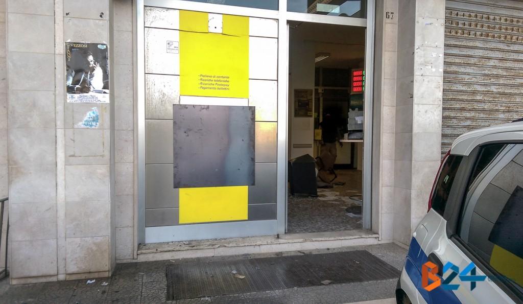 Foto rapina Bancomat Sant'Andrea-1