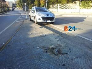Incidente rotonda Sant'Andrea 2