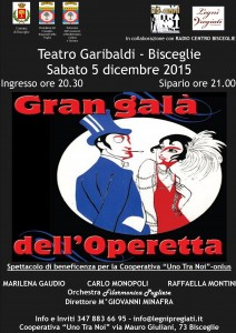 Locandina operetta [49305]