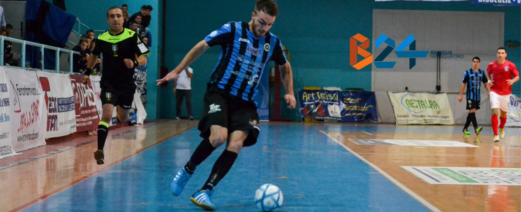 Amichevoli: Futsal Bisceglie oggi impegnato nel triangolare di Giovinazzo