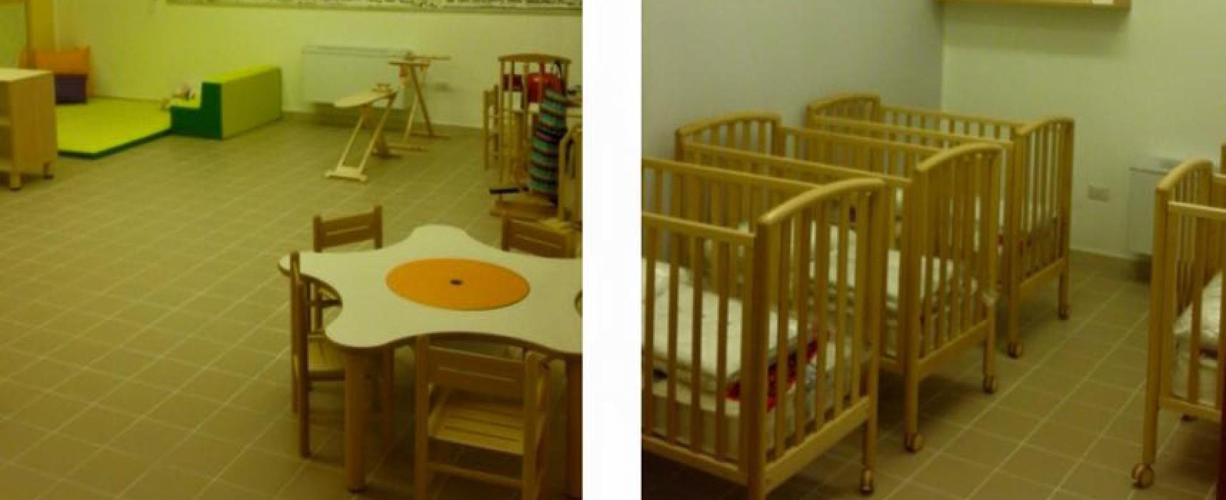 """""""Kindergarten Montessori"""", primo asilo nido comunale. Inaugurazione lunedì 21 dicembre"""