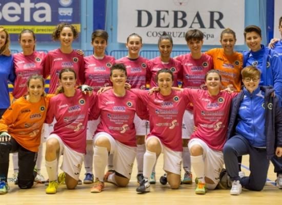 Il Futsal Bisceglie femminile oggi contende la Coppa Puglia al Saint Joseph Copertino