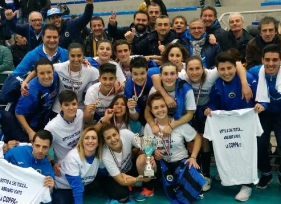 Il Futsal Bisceglie vince la Coppa Puglia femminile