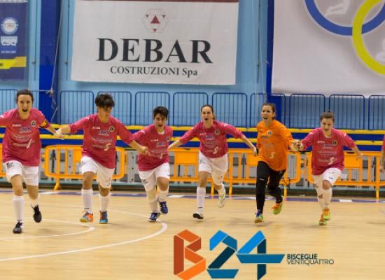 Futsal Bisceglie, la compagine femminile centra al primo anno la finale di Coppa Puglia