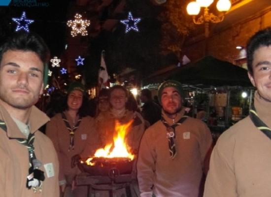 La Luce della Pace arrivata a Bisceglie come auspicio per un futuro migliore