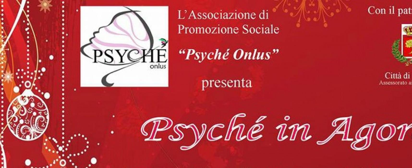 L'Associazione Psyché Onlus in piazza per le festività natalizie