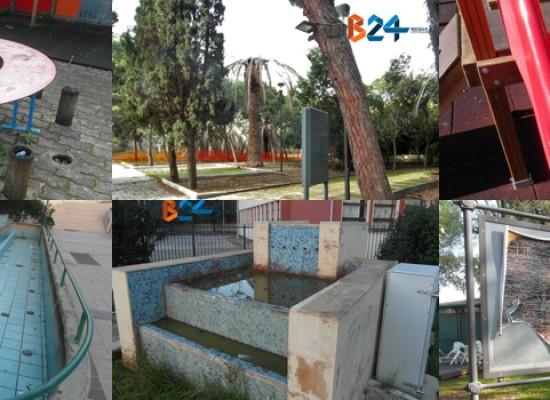 In che stato sono i parchi pubblici? Ecco un reportage  / FOTO