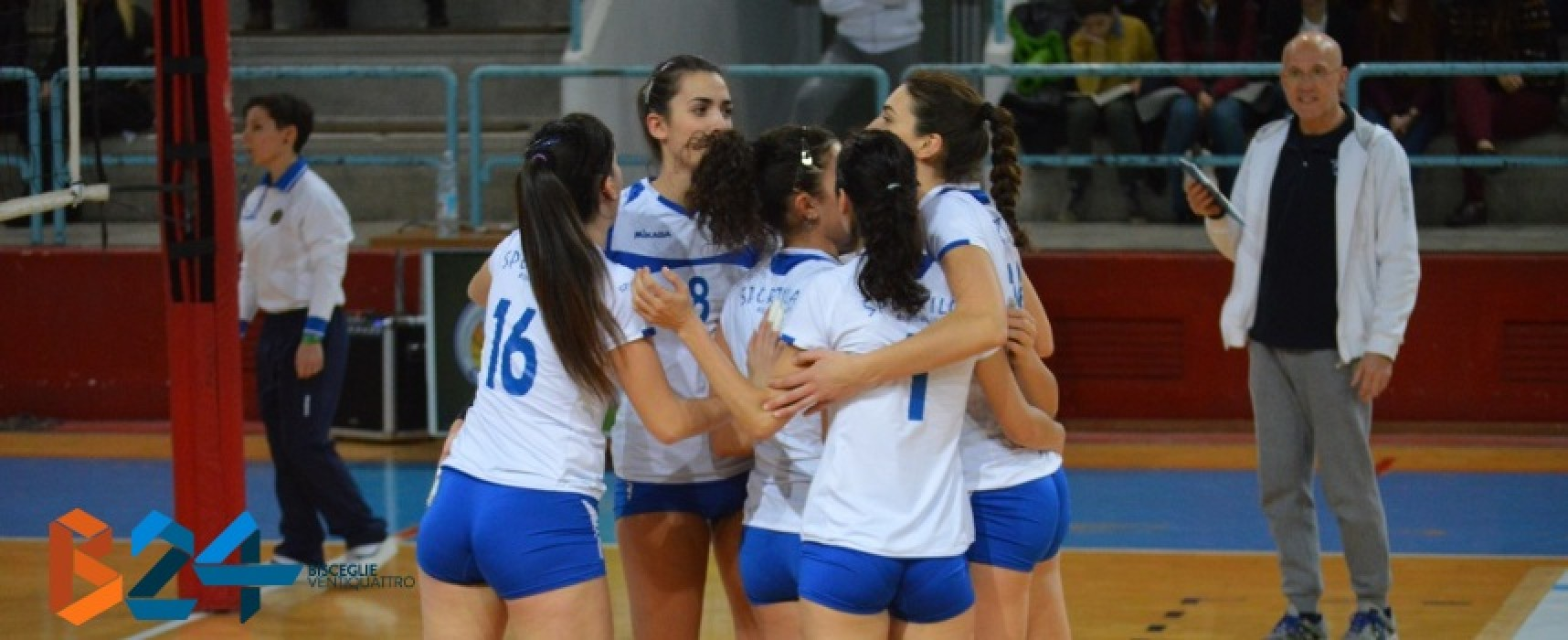 Sportilia Volley, secco 3-0 all'Aquila Azzurra Trani