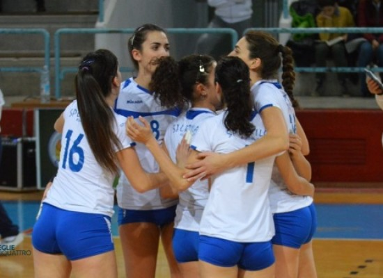 Sportilia beffata al tie-break da Cuti Volley / FOTO