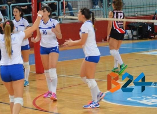 Sportilia ingrana la terza, sconfitta la Polis Corato per 3-1