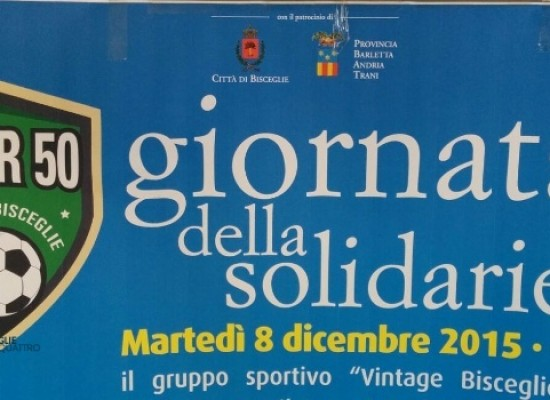 """Giornata della solidarietà organizzata da """"Vintage Bisceglie"""" over 50"""