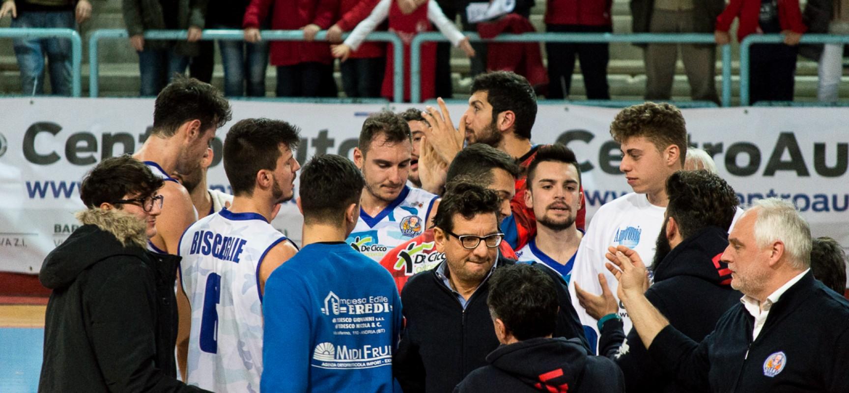 Ambrosia Bisceglie a caccia dei playoff, con Taranto serve assolutamente la vittoria
