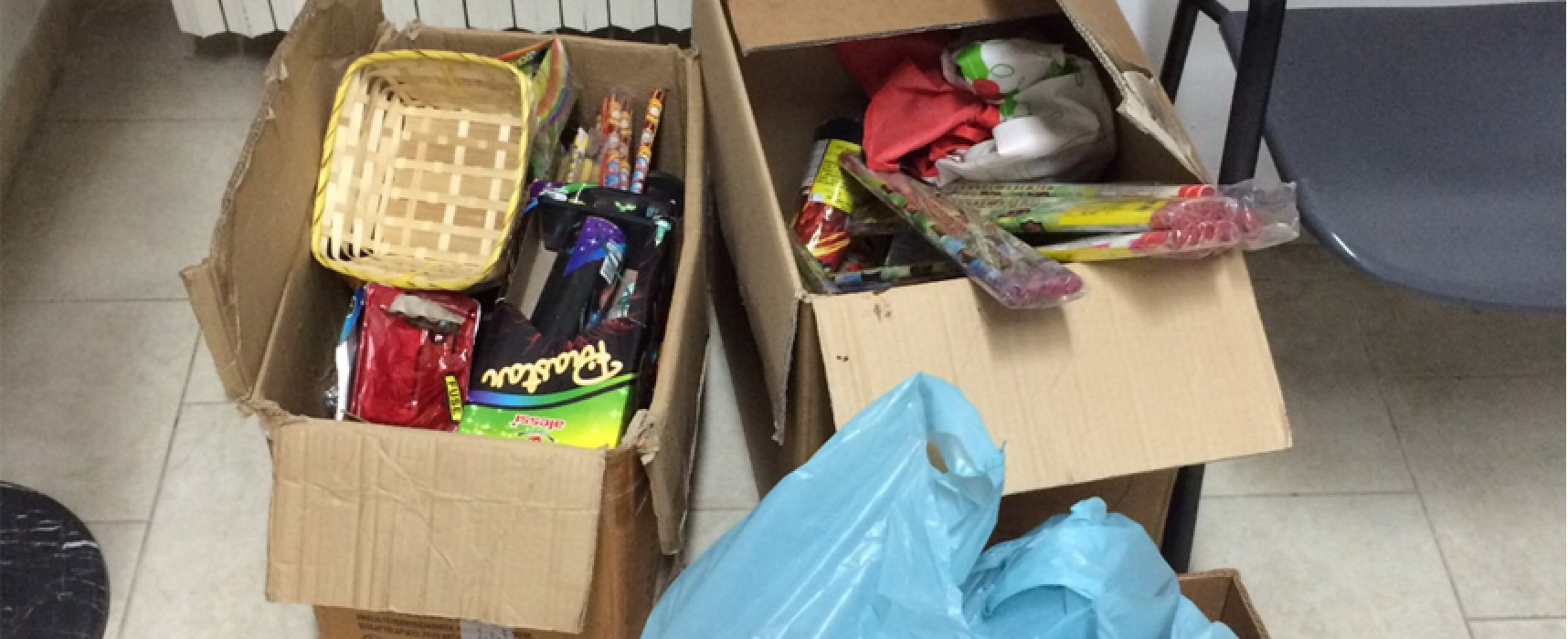 Botti di Capodanno: nessun ferito a Bisceglie, tre sequestri di materiale pirotecnico