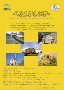 Corso di Guida Turistica 2016 - ridimensionata