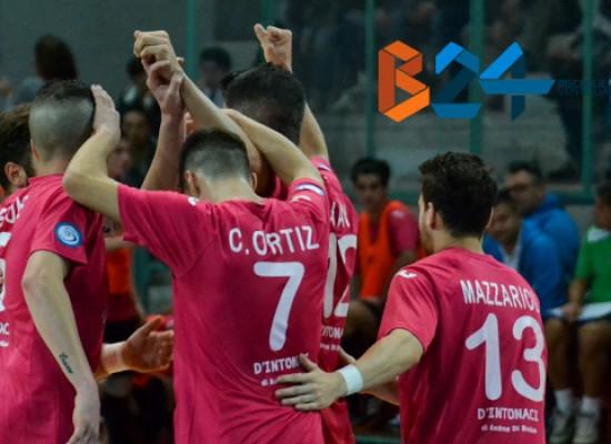Il Futsal Bisceglie batte il Salinis 7-3 / VIDEO HIGHLIGHTS