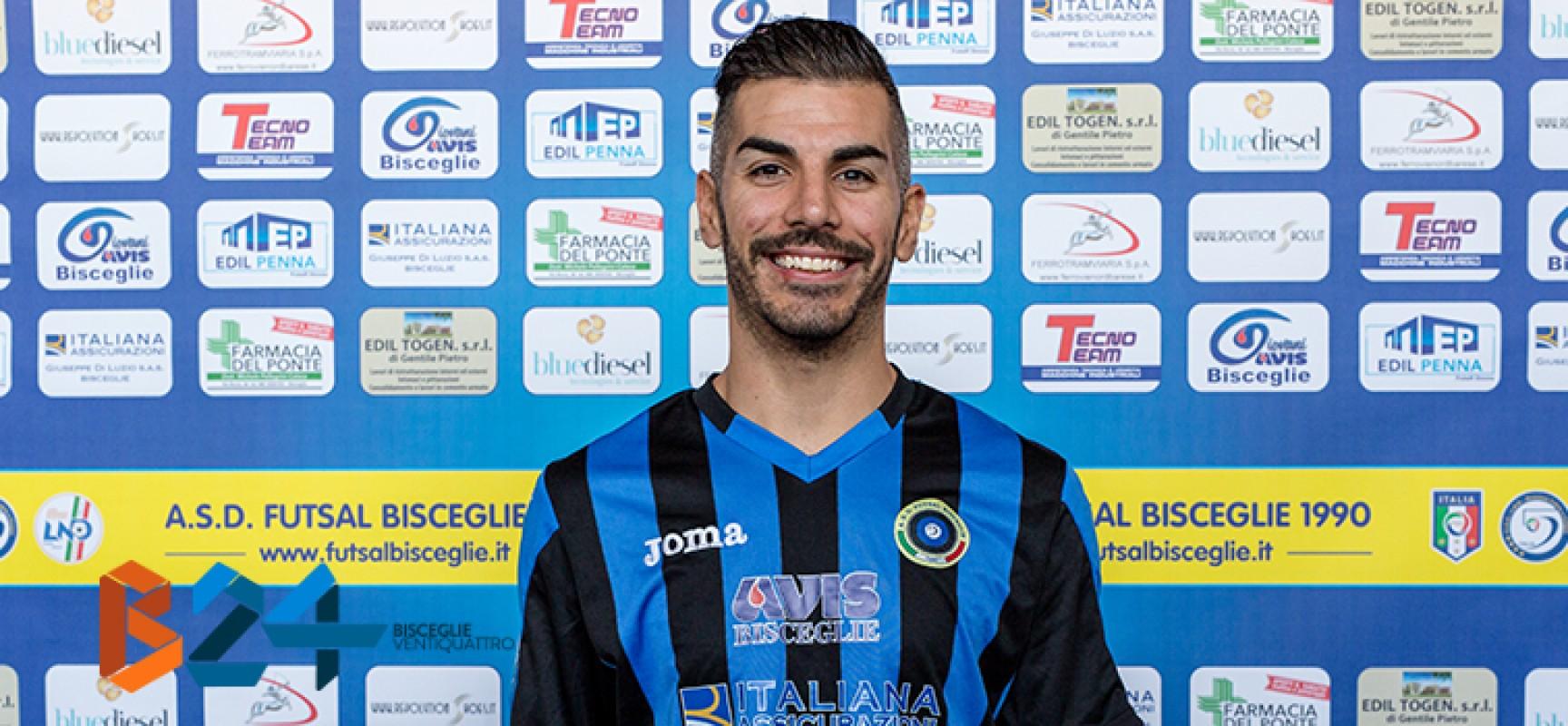 """Futsal Bisceglie sabato di scena a Catanzaro, Kevin: """"Sarà un'altra storia"""""""
