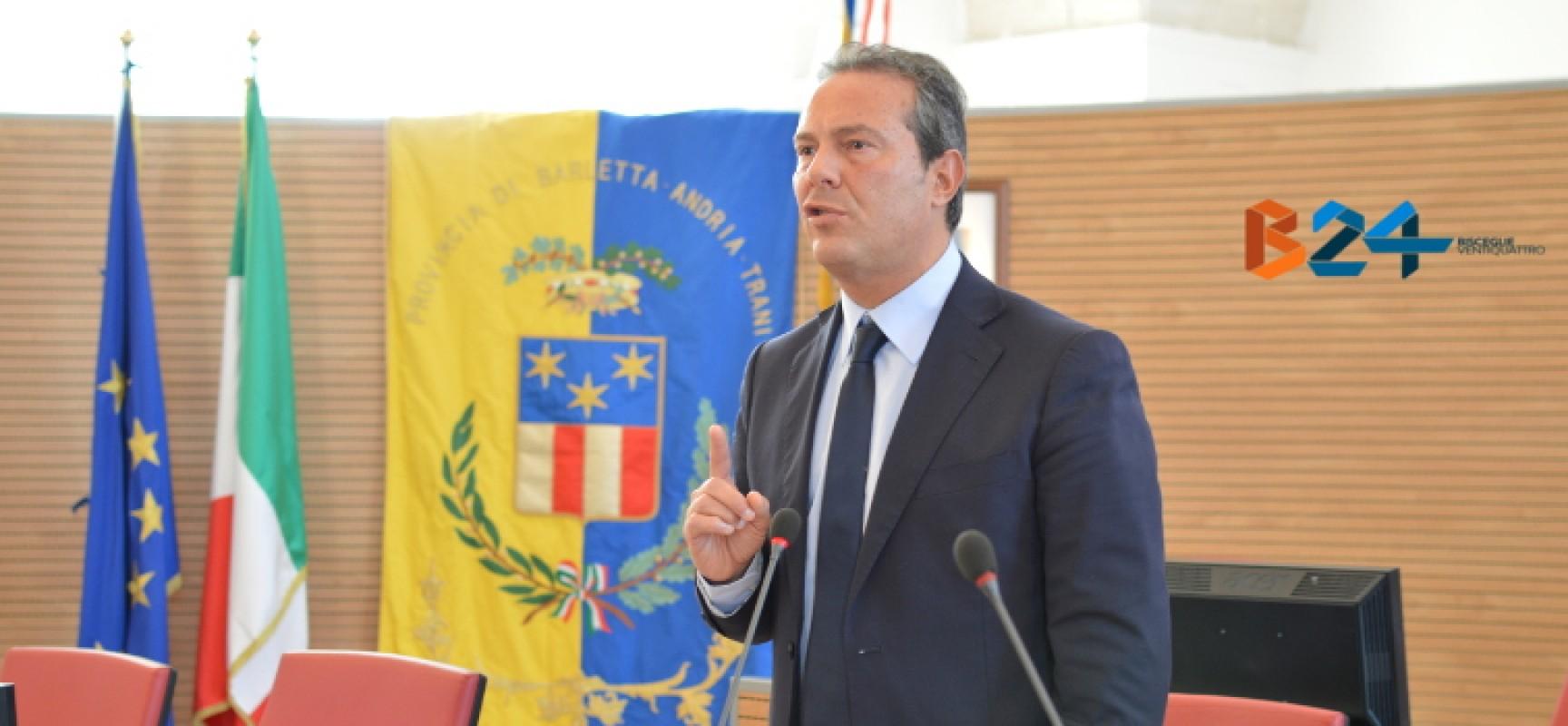 Provinciali: accordo trovato, Giorgino presidente con Spina e Bottaro vice