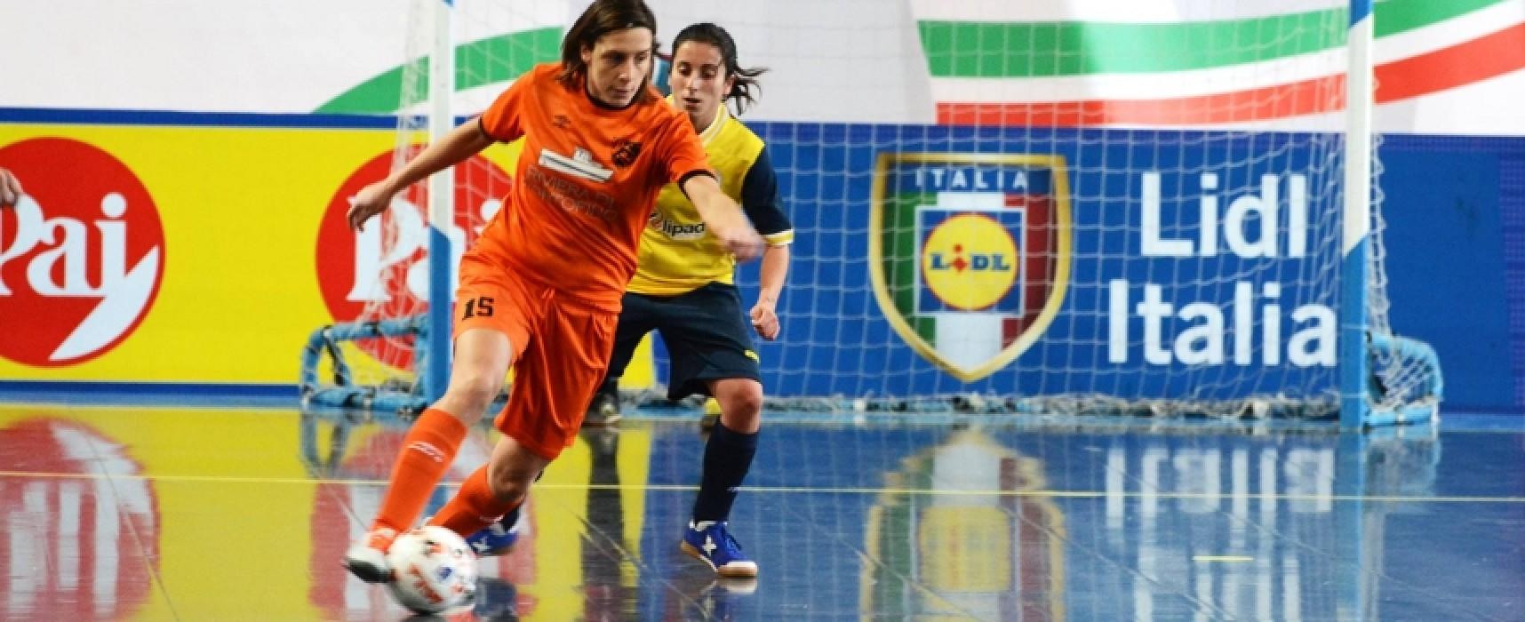 Oggi la capolista Arcadia Bisceglie impegnata a Palermo contro il Futsal P5