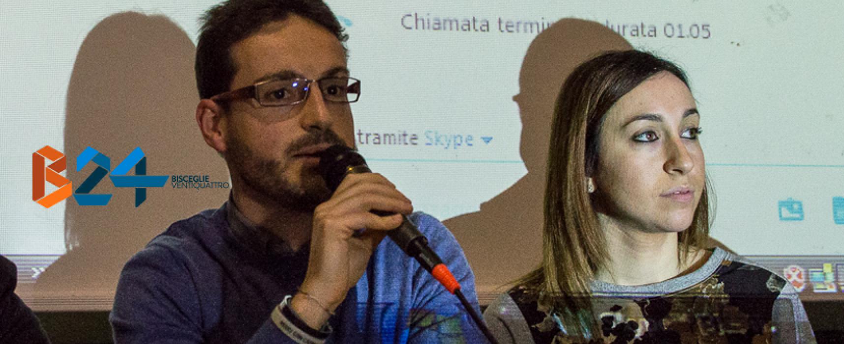 Francesco Brescia e Maristella Lupone su Elle Radio per raccontare dell'High School Radio biscegliese