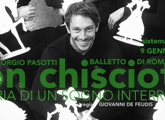 """""""Il viaggio"""" di Don Chisciotte fa tappa al teatro Garibaldi: protagonista Giorgio Pasotti"""