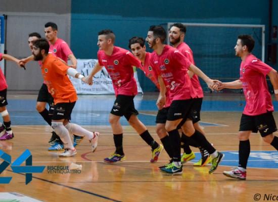 Il Futsal Bisceglie parte bene nel 2016, Salinis superato 7-3